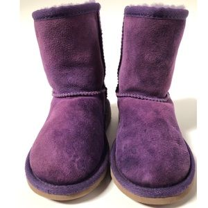 Purple Uggs size 11 toddler